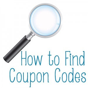find coupon codes